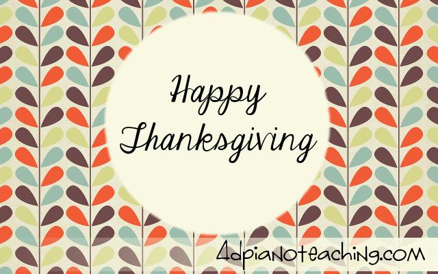 Thanksgiving Activities – Free Duet!