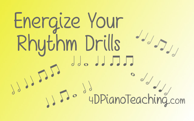 energize your rhythm drills