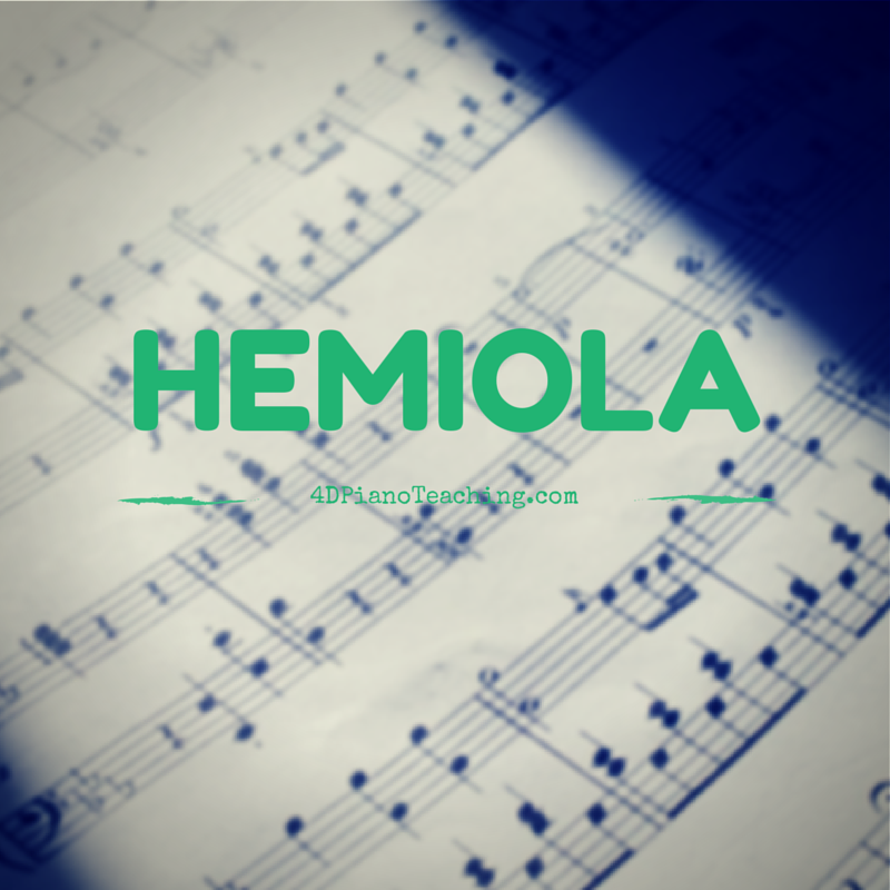 Fun with Hemiolas