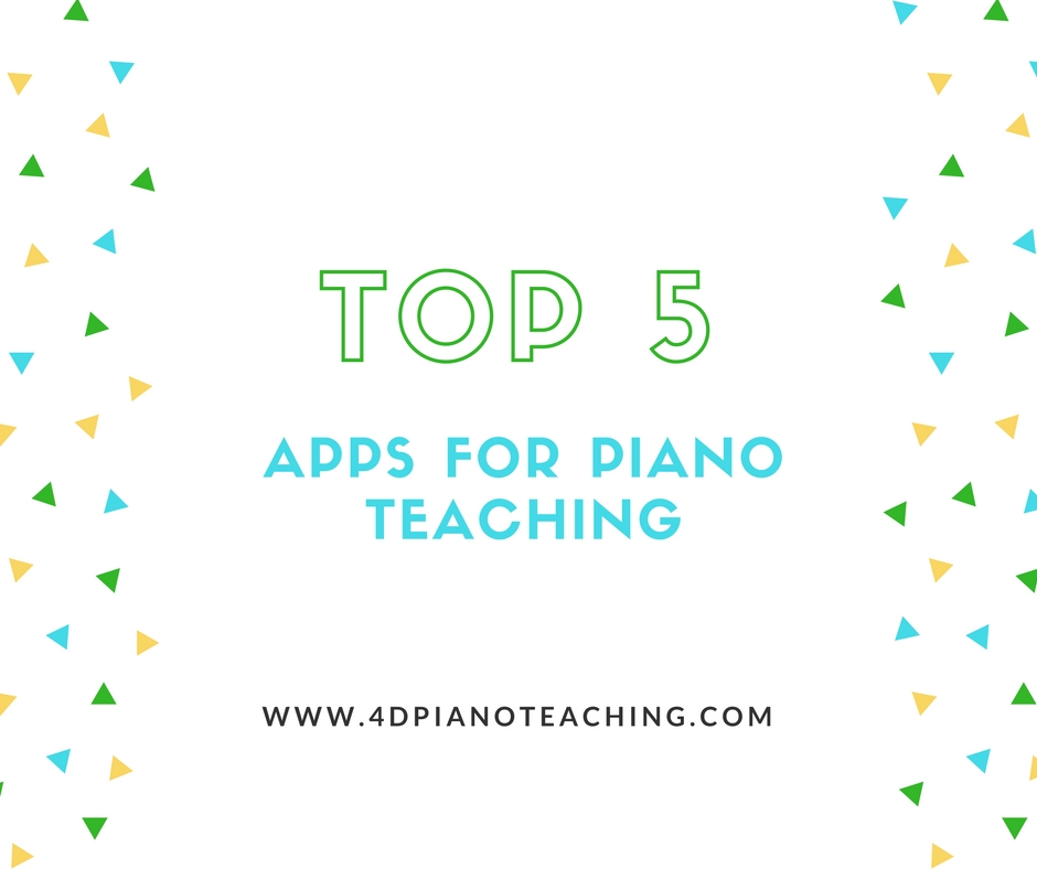 My Top Five Most Used Apps for Teaching
