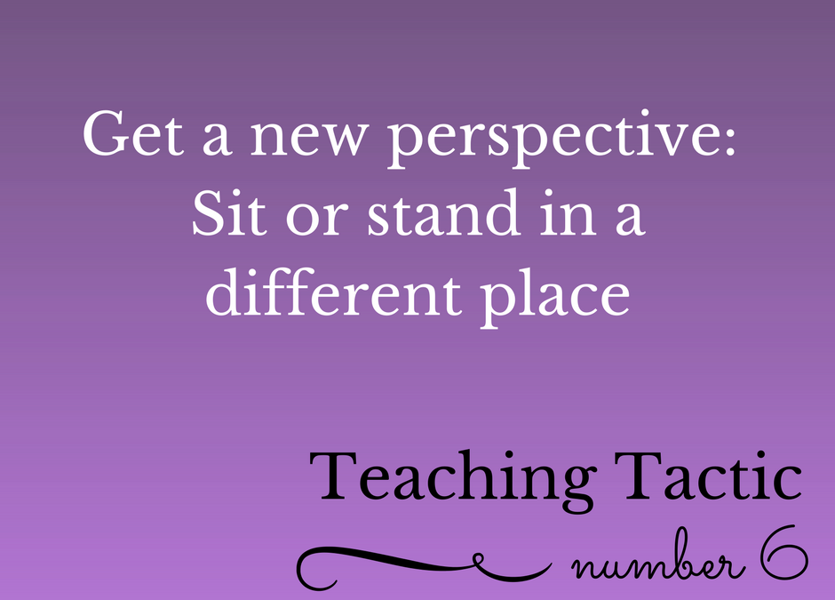 Tuesday Teaching Tactic #6