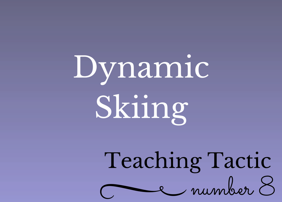 Tuesday Teaching Tactic #8