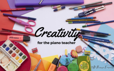 Creativity for Piano Teachers