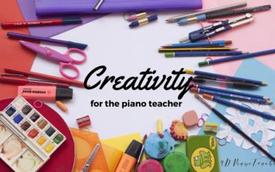 Creativity for Piano Teachers