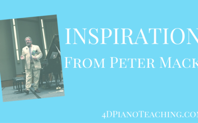 Inspiration from Peter Mack