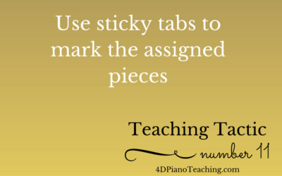 Tuesday Teaching Tactic #11