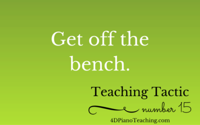 Tuesday Teaching Tactic #15