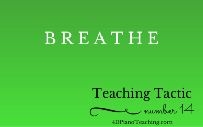 Tuesday Teaching Tactic #14