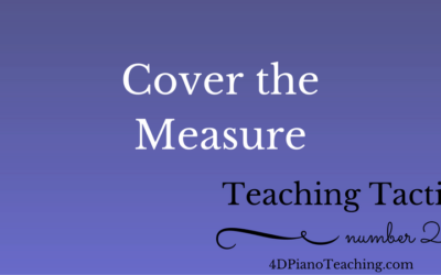 Tuesday Teaching Tactic #20