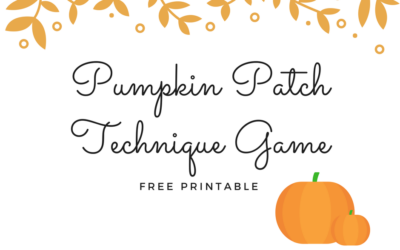 Pumpkin Patch Technique Game – Free Printable