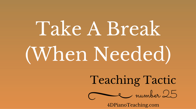 Tuesday Teaching Tactic #25