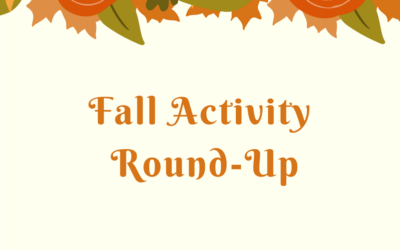 Fall Activity Round-Up