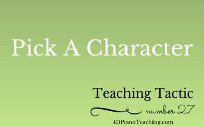 Tuesday Teaching Tactic #27