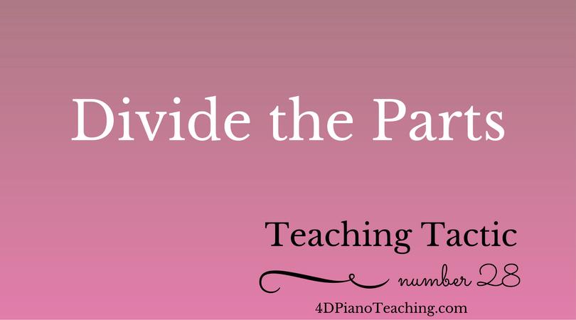 Teaching Tactic #28