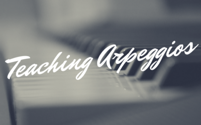 Teaching Arpeggios (Free Game Printable!)