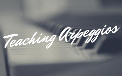 Teaching Arpeggios (Free Game Printable!)