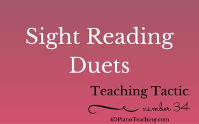 Tuesday Teaching Tactic #34