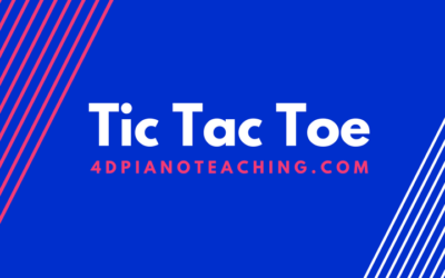 Tic Tac Toe – Intervals