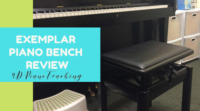 Exemplar Piano Bench – Review