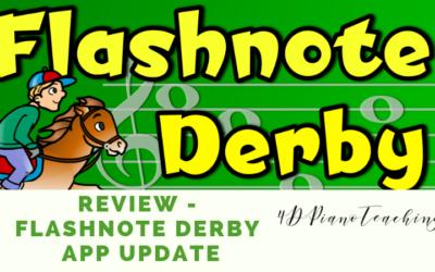 Review – Flashnote Derby App Update