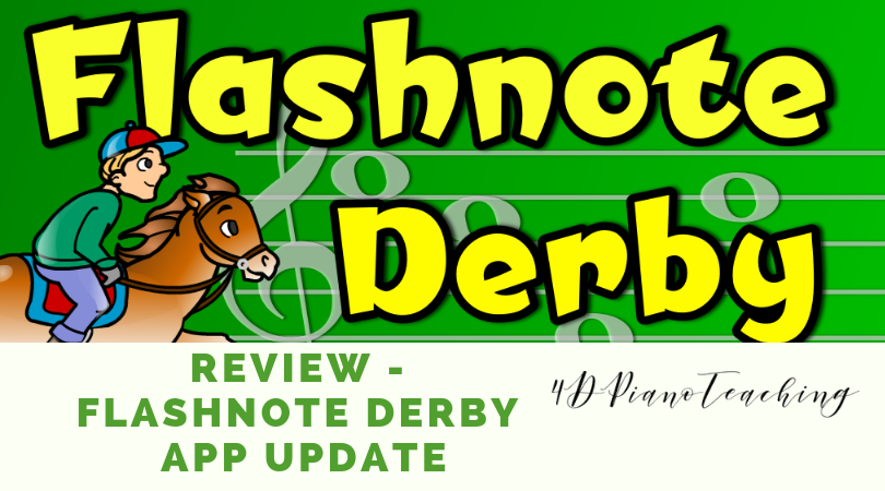 Review – Flashnote Derby App Update