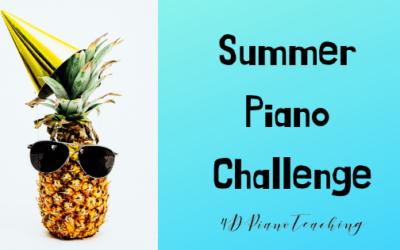 Summer Piano Challenge