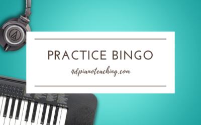 Practice Bingo
