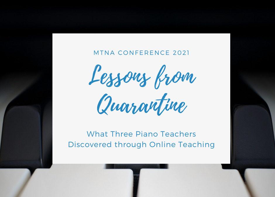 MTNA Conference 2021